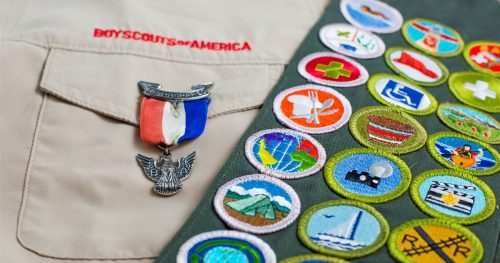 190806 boys scouts of america badges se 229p 2bad362c6db61d398dbd1d5743db7352.nbcnews fp 1200 630 500x263 Boy Scouts have a 'pedophile epidemic' and are hiding hundreds in its ranks, lawyers claim