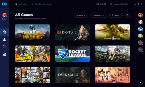 interface 1260x762 500x302 Game streaming startup Rainway raises cash, adds Gaikai founder and Xbox pioneer as advisors
