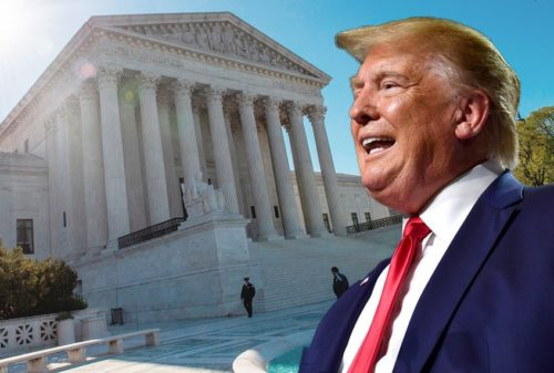 trump supremecourt 9121 500x337 The Citizens United ruling broke American democracy at the start of the decade. It never recovered