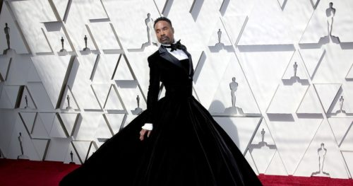 9df9159a 73b1 438b b061 007729b55e35 getty 1127430777 500x263 Billy Porters 2019 Oscars Gown Gave Him Power He Didnt Know He Had