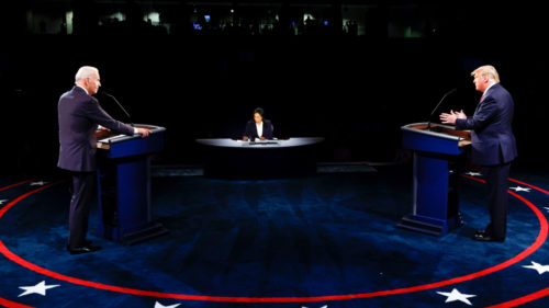 ElectionPhoto 500x281 Donald Trump Behaved in the Second Debate, Which Gave Joe Biden the Chance to Destroy Him