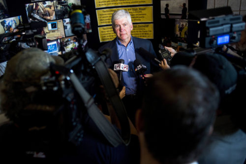 AP990581983528c 500x333 Michigan Charges Ex Governor Rick Snyder With Neglect in Flint Water Crisis